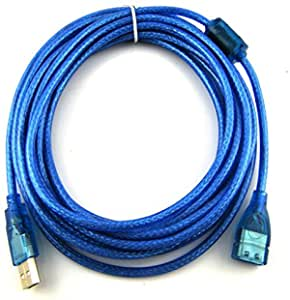 Cable USB 2.0 10 Metros extension prolongador Macho/Hembra