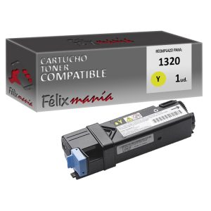 Toner Amarillo Compatible para Dell 1320