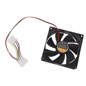 Ventilador enfriador ordenador 4 pin 80mm de la CPU PC DC 12v 80x80x25mm 8cm v5