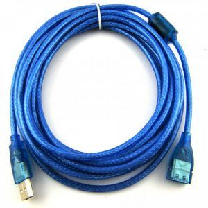 Cable USB 2.0 5 Metros extension prolongador Macho/Hembra 480 Mbps