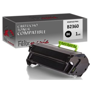 Toner Negro Compatible Dell B2360