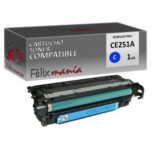 Toner Cyan Compatible HP CE251A / Canon 723
