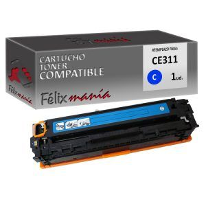 Toner Cyan Compatible HP CE311A