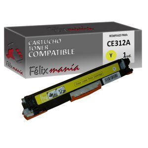 Toner Amarillo Compatible HP CE312A