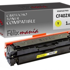 Toner Amarillo Compatible HP CF402X
