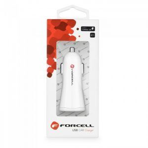 Cargador coche Forcell - USB - funcion Quick Charge 3.0