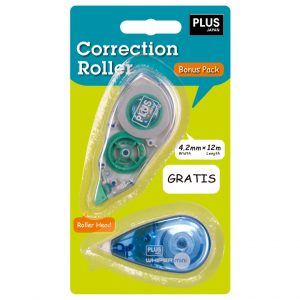 Cinta Correctora TW Plus Desechable + 1 Mini (5m)