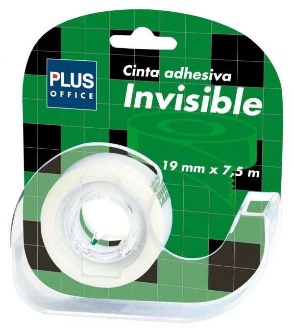 Cintas adhesivas invisible 19mm x 7,5m