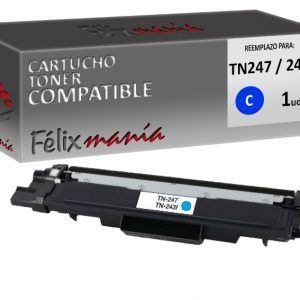 Toner Cyan Compatible Brother TN247 / 243