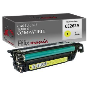 Toner Amarillo Compatible HP CE262A