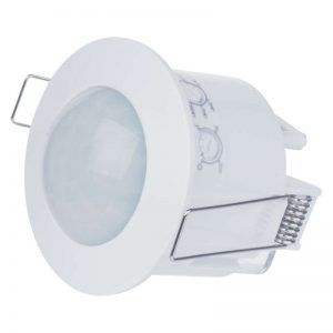 Sensor de movimiento PIR IP20 1200W blanco