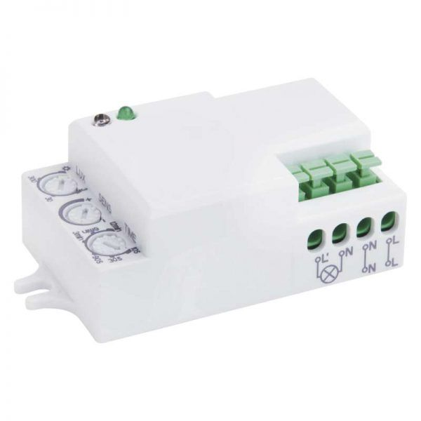 Sensor de movimiento MW IP20 1200W blanco