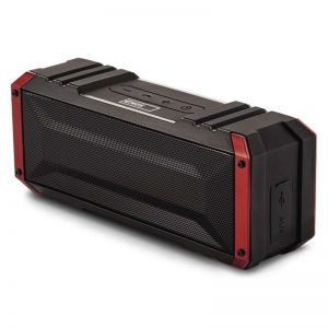 Altavoz Bluetooth EMOS Soundbox BOOMER rojo