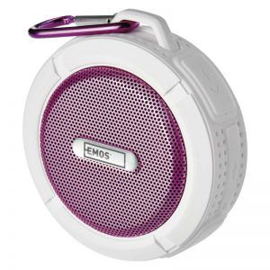 Altavoz Bluetooth EMOS Soundbox FREESTYLER Rosa