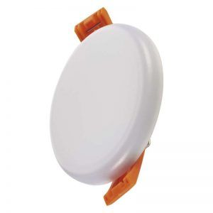 Panel LED 185 mm, redondo, incorporado, blanco, blanco neutro 18W