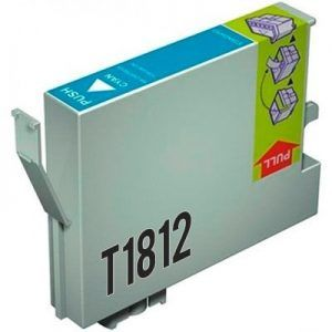 Cartucho Cyan Compatible Epson 18XL T1812
