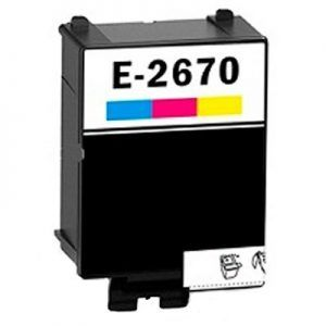 Cartucho Color Compatible Epson T267