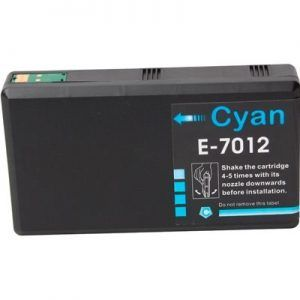 Cartucho Cyan Compatible Epson T7012