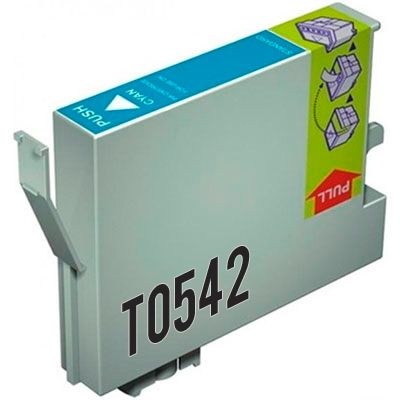 Cartucho Cyan Compatible Epson T0542