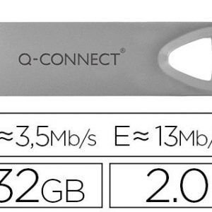 Memoria usb q-connect flash premium 32 gb 2.0.
