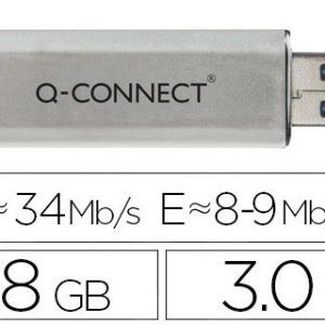 Memoria usb q-connect flash 8 gb 3.0.