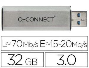Memoria usb q-connect flash 32 gb 3.0.
