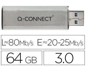 Memoria usb q-connect flash 64 gb 3.0.