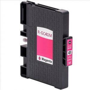 Cartucho Magenta Tinta Gel Compatible Ricoh GC41