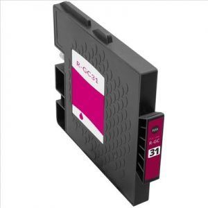 Cartucho Magenta Tinta Gel Compatible Ricoh GC31