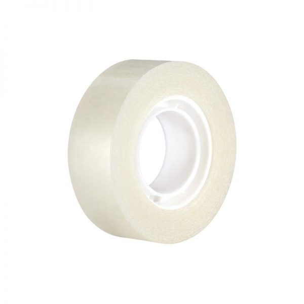 Cinta adhesiva invisible 19 mm x 33 m (Blister 1 ud)