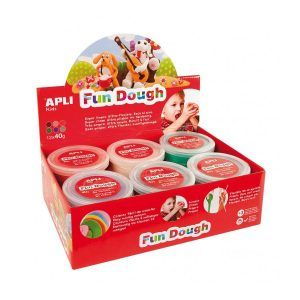 Fun Dough colores especiales (12 ud.)