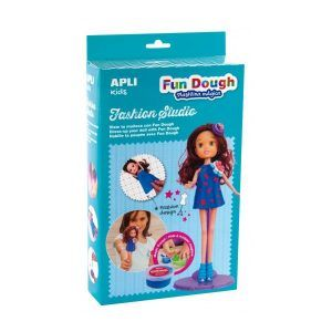 Fun Dough Fashion Studio Muñeca morena
