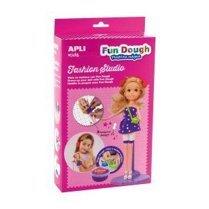 Fun Dough Fashion Studio Muñeca rubia
