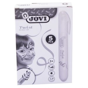 Barra maquillaje Twist Make-up Blanco (Caja 5 ud.)