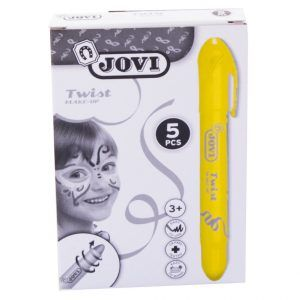 Barra maquillaje Twist Make-up Amarillo (Caja 5 ud.)