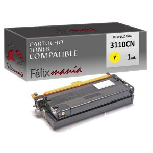 Toner Amarillo Compatible DELL 3110CN / 3115CN